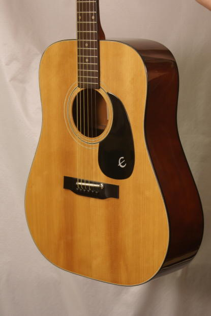 Vintage Epiphone Ft 140 Made In Japan Acoustic Guitar With