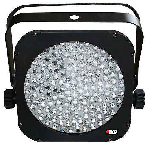 Wireless Puck Lights Canada: MEC XF-144 X2 LED Slim Flat RGB Par 64 Puck Style DMX DJ