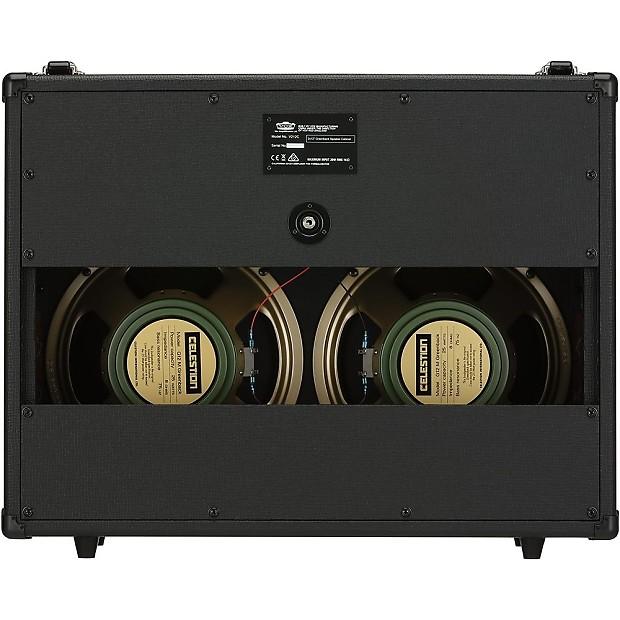 vox v212c 2x12 open back guitar extension cab celestion g12m reverb. Black Bedroom Furniture Sets. Home Design Ideas
