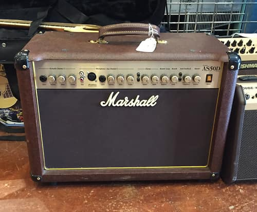 marshall as50c brown acoustic guitar combo amp amplifier reverb. Black Bedroom Furniture Sets. Home Design Ideas