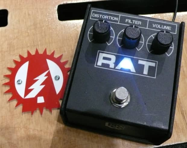 modified proco rat 2 distortion guitar effects pedal reverb. Black Bedroom Furniture Sets. Home Design Ideas