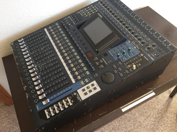 yamaha dm1000 digital mixer dm 1000 live sound board reverb. Black Bedroom Furniture Sets. Home Design Ideas