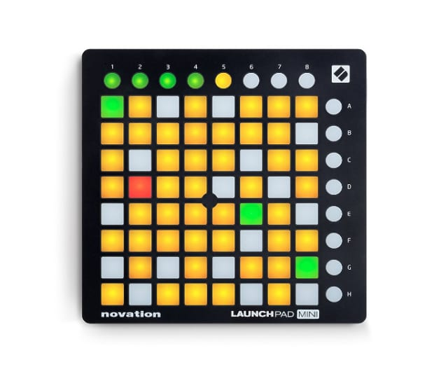 novation launchpad mini compact usb grid controller for reverb. Black Bedroom Furniture Sets. Home Design Ideas