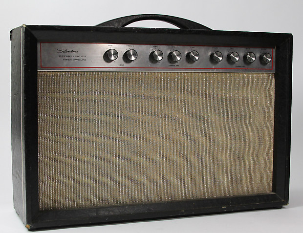 Dating silvertone amps