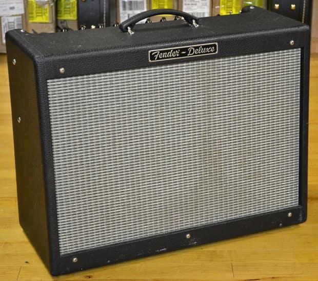 used fender hot rod deluxe guitar amplifier reverb. Black Bedroom Furniture Sets. Home Design Ideas