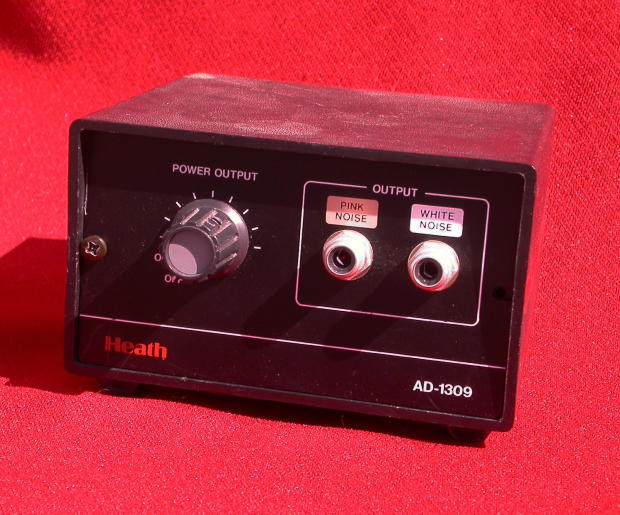 heathkit ad 1309 audio white pink noise generator analog. Black Bedroom Furniture Sets. Home Design Ideas
