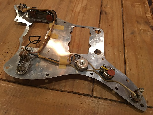 fender 1964 wiring harness and aluminum shield 1964 reverb