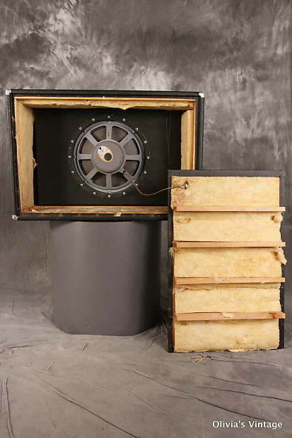 Fender Showman Amplifier Cabinet 1x15 Jbl D130f Bad
