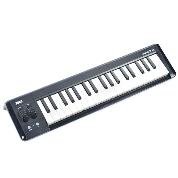 korg microkeyair 37 mini key wireless usb midi keyboard reverb. Black Bedroom Furniture Sets. Home Design Ideas