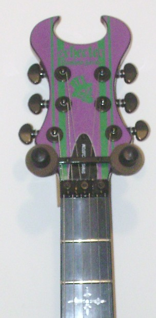 Schecter Synyster Gates Custom Joker Limited Edition Reverb