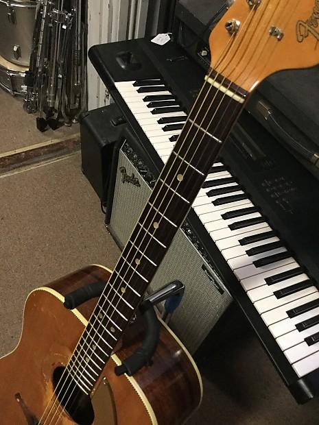 Fender King Acoustic Guitar 1963 Natural | Reverb