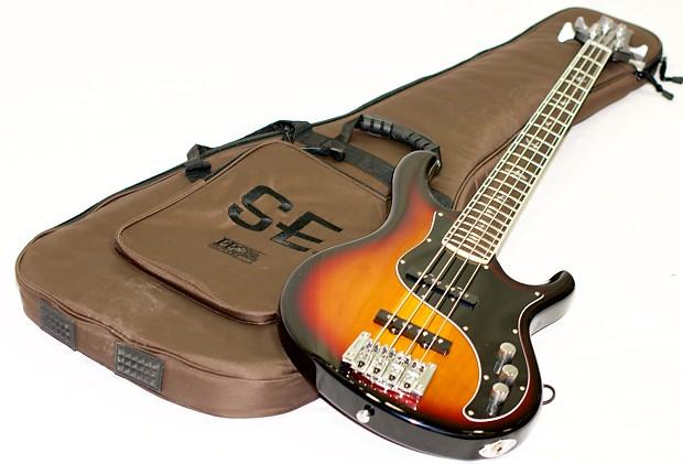 prs paul reed smith kestrel bass guitar in classic burst reverb. Black Bedroom Furniture Sets. Home Design Ideas
