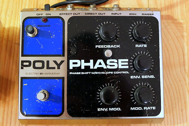 Electro Harmonix Polyphase 1976 220v With Transformer To