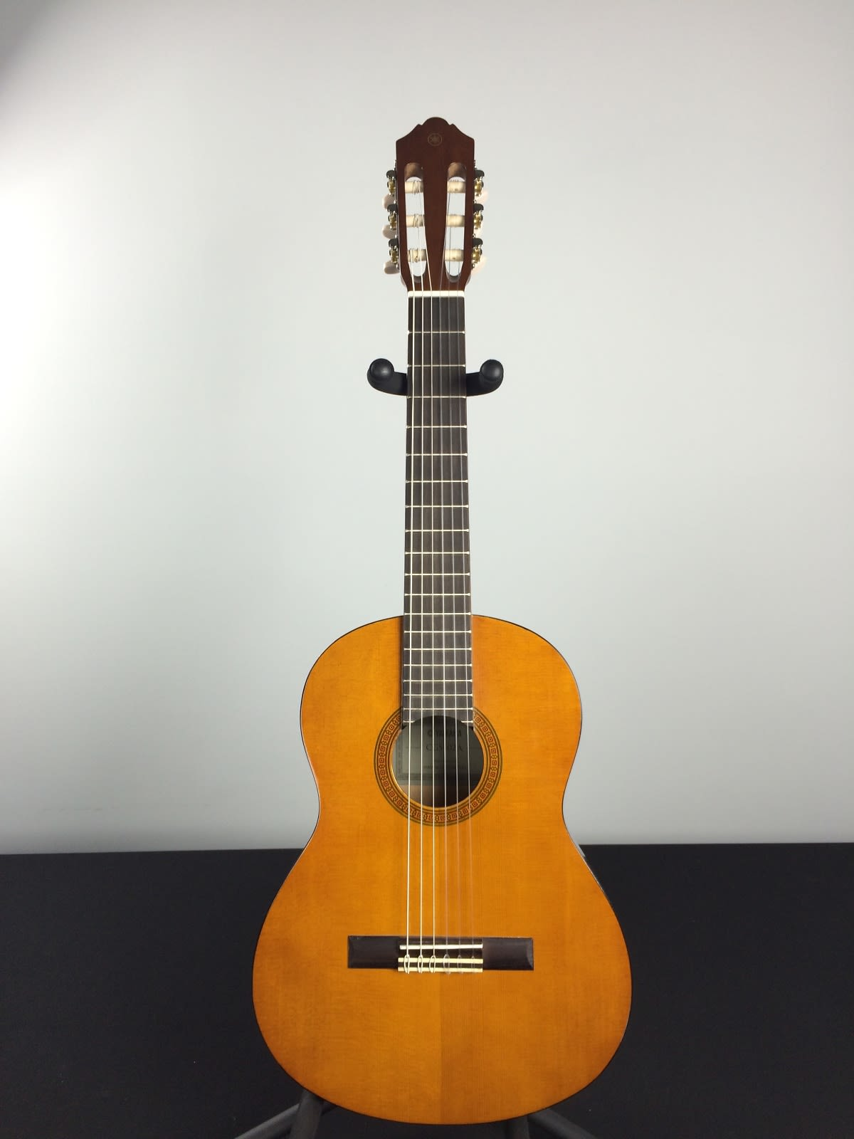 Yamaha cgs102a 1 2 classical acoustic guitar natural reverb for Yamaha classic guitar