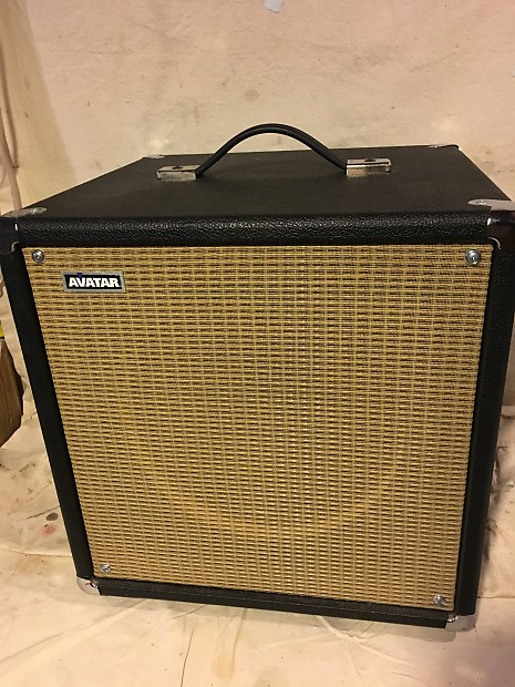 avatar 1x12 cube guitar cabinet with wgs american vintage reverb. Black Bedroom Furniture Sets. Home Design Ideas