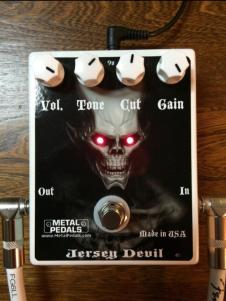 Jersey Devil Metal Pedals image