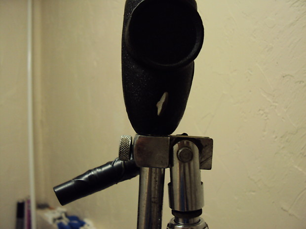 Vintage Atlas Microphone Stand With Boom Arm D Made In