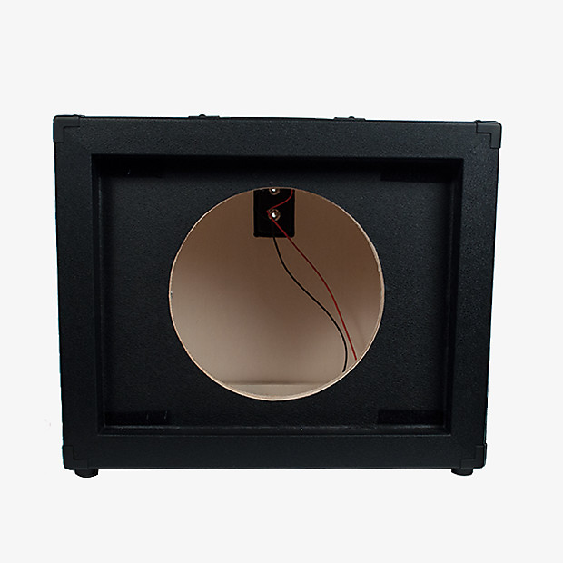 12 guitar speaker cabinet empty 1x12 cab black tolex reverb. Black Bedroom Furniture Sets. Home Design Ideas