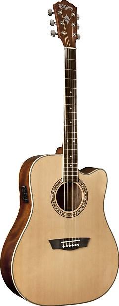 washburn wd10 series wd10ce acoustic electric guitar reverb. Black Bedroom Furniture Sets. Home Design Ideas