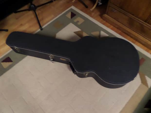 tkl hard shell case to fit an acoustic bass 12 string reverb. Black Bedroom Furniture Sets. Home Design Ideas