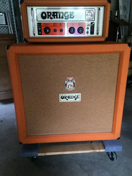 Orange Or 120 Graphics Amp 1972 Half Stack Reverb