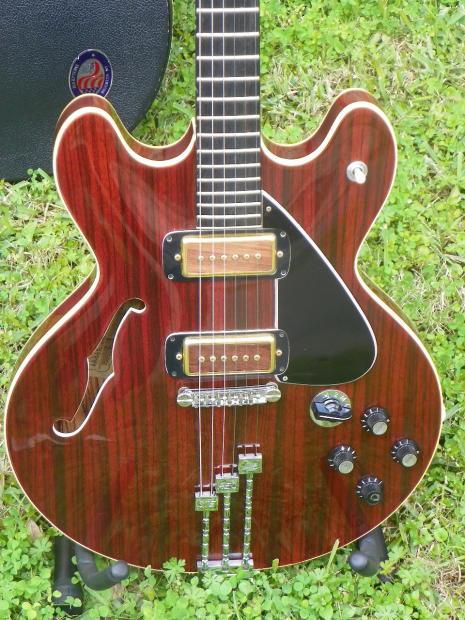 Jm Auto Sales >> Beautiful Vintage Framus 73L M-8 JM7 1973 w/ Case Semi-Hollow Electric Guitar   Reverb