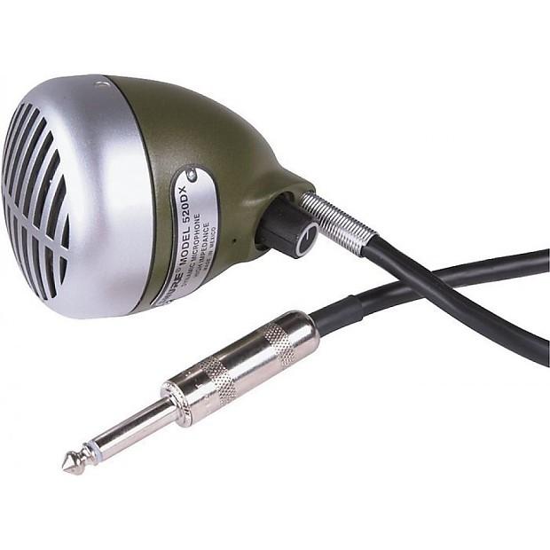 Shure Green Bullet : shure 520dx green bullet harmonica mic reverb ~ Hamham.info Haus und Dekorationen