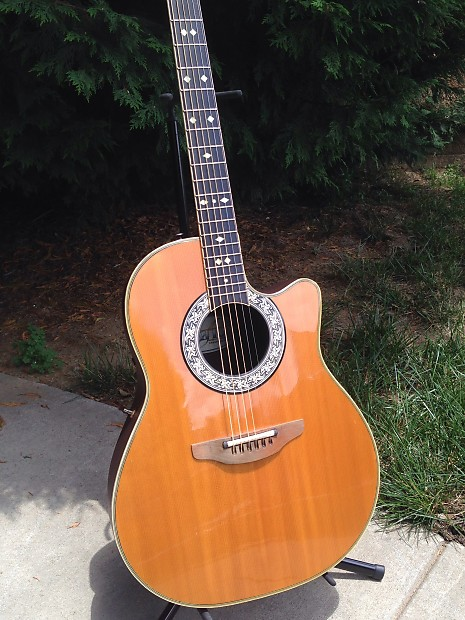 1982 Ovation Legend 1667 Acoustic Electric In Natural
