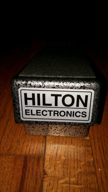 Hilton Volume Pedal Gray With Power Supply Reverb