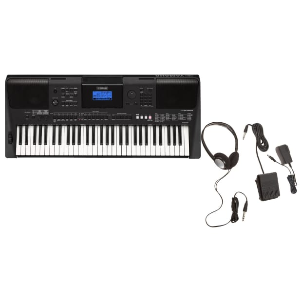 Yamaha psr e453 61 key portable arranger keyboard reverb for Yamaha credit application