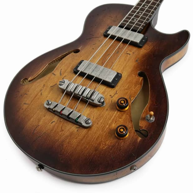 ibanez agbv200atcl artcore semi hollow body bass in tobacco reverb. Black Bedroom Furniture Sets. Home Design Ideas