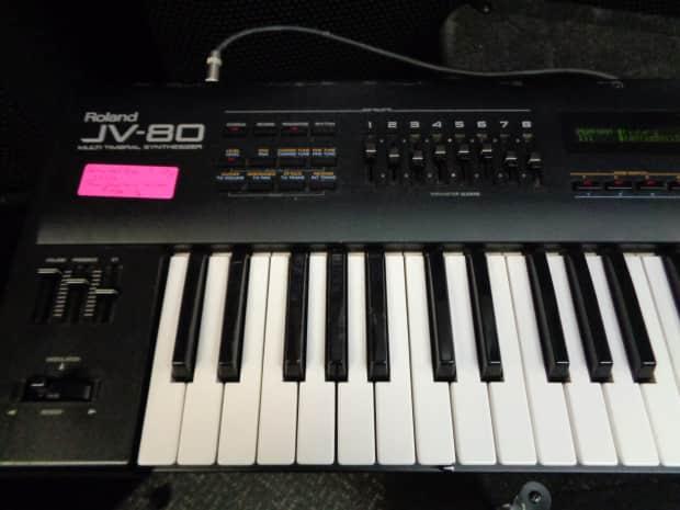 roland jv 80 synthesizer keyboard jv80 as is reverb. Black Bedroom Furniture Sets. Home Design Ideas
