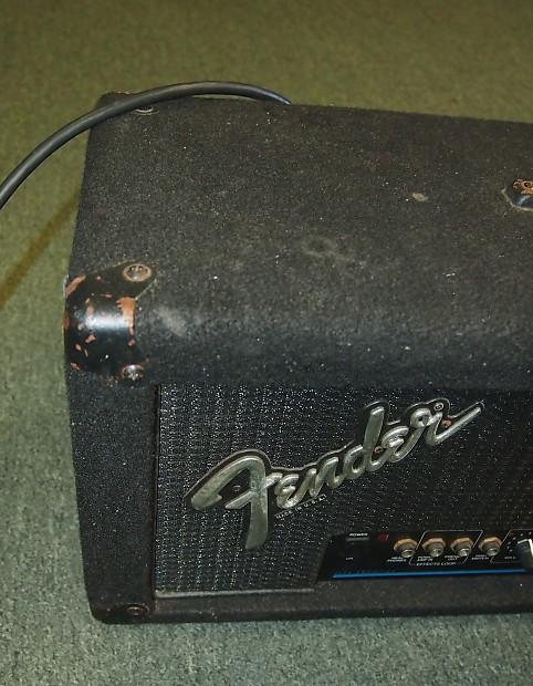 fender m 80 electric guitar amp head reverb. Black Bedroom Furniture Sets. Home Design Ideas