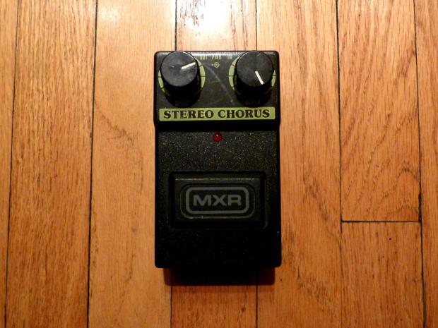 vintage mxr m167 stereo chorus reverb. Black Bedroom Furniture Sets. Home Design Ideas