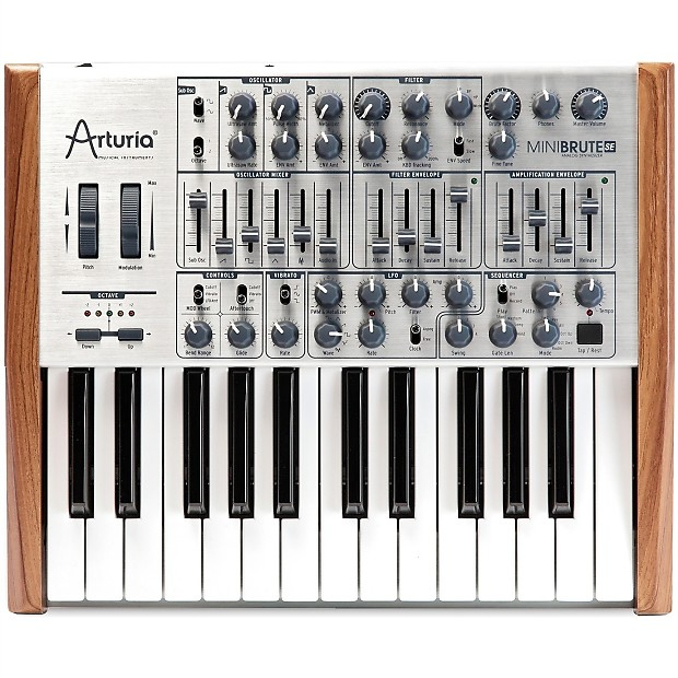 arturia mini brute software