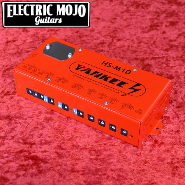 Yankee Hs M10 Power Supply 8 Isolated Outputs Guitar