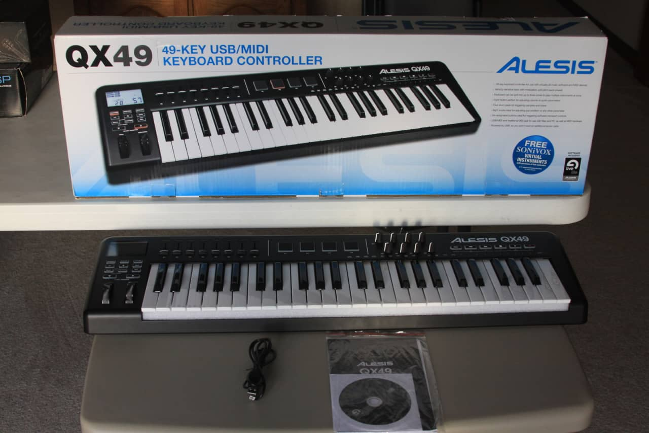 alesis qx49 midi key controller ableton live lite reverb. Black Bedroom Furniture Sets. Home Design Ideas