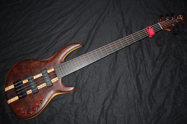 wyn custom fretless 5 string bass guitar reverb. Black Bedroom Furniture Sets. Home Design Ideas