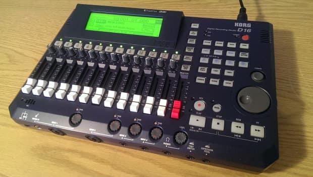 Dannys Auto Parts >> Korg D16 V2 Digital Recording Studio w Power Supply and HD   Reverb