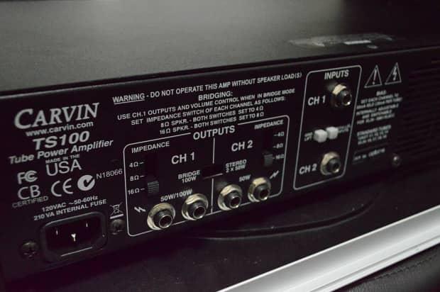 carvin ts100 tube power amp reverb. Black Bedroom Furniture Sets. Home Design Ideas