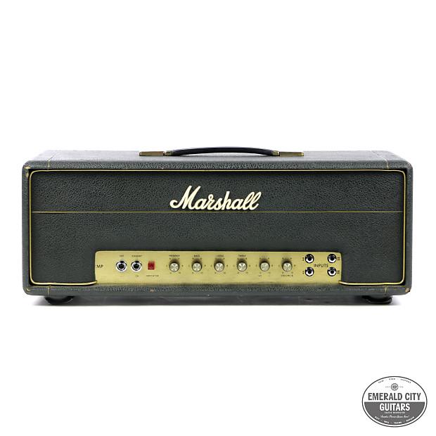 1970 marshall jmp 50 watt 1987 reverb. Black Bedroom Furniture Sets. Home Design Ideas