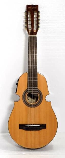 10 string puerto rican cuatro guitar w 3 band eq reverb. Black Bedroom Furniture Sets. Home Design Ideas