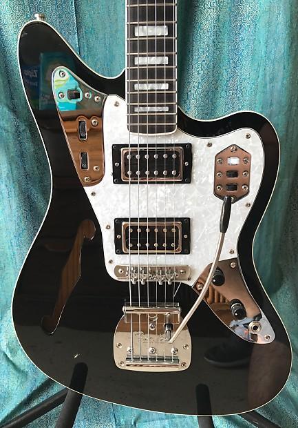 fender jaguar thinline custom w hard shell case reverb fender jaguar wiring series 1965 fender jaguar wiring diagram #2