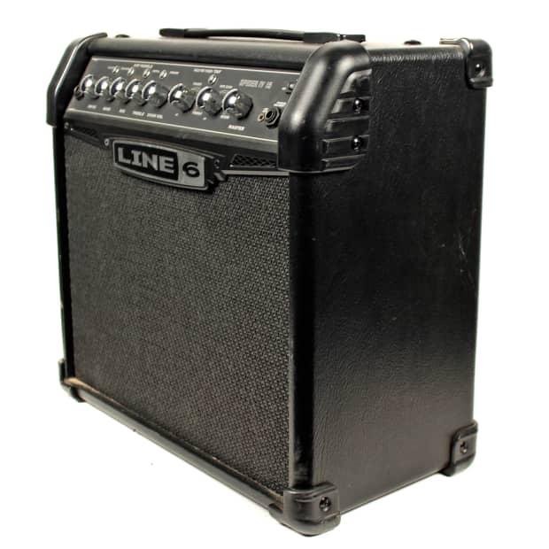line 6 spider iv 15 modeling guitar amplifier 2000 39 s reverb. Black Bedroom Furniture Sets. Home Design Ideas