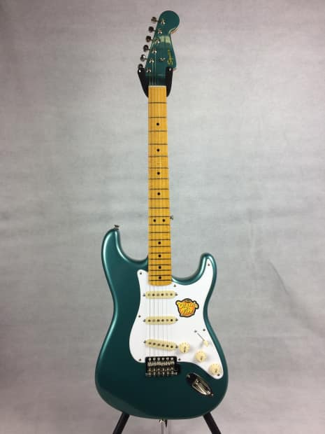 squier classic vibe 39 50s stratocaster 2015 sherwood green reverb. Black Bedroom Furniture Sets. Home Design Ideas