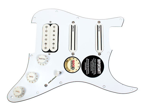 dimarzio andy timmons loaded strat pickguard dp224f at