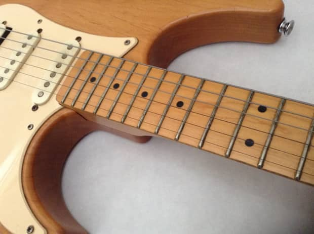Yamaha pacifica 112m electric guitar rare natural finish for Yamaha pacifica 112 replacement parts