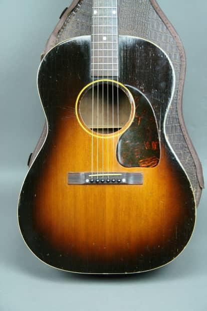1950 Gibson Lg 1 Vintage Acoustic Guitar All Original Reverb