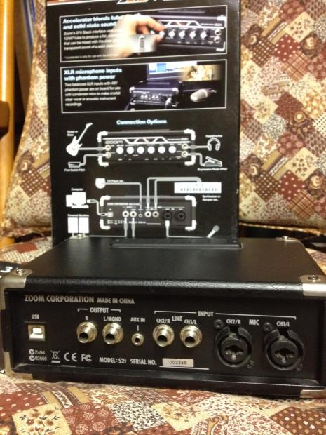 Usb Audio Interface Troubleshooting : zoom s2t zfx real tube usb audio interface for winxp 32 bit reverb ~ Russianpoet.info Haus und Dekorationen