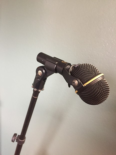 electro voice n d468 yoke mount instrument microphone great reverb. Black Bedroom Furniture Sets. Home Design Ideas
